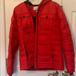 Columbia Puffer Jacket with Detachable Hood